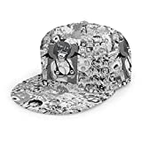 FGN Ahegao Waifu Lewd Devil Girl Cosplay Hat Baseball Cap Unisex, Printed Cap/Hat