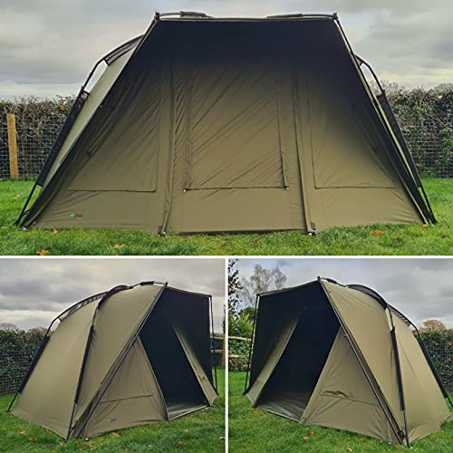 Quest Defier MK2 1 Man Bivvy | Carp Fishing | Quick Erect | Day Shelter Overnight Brolly