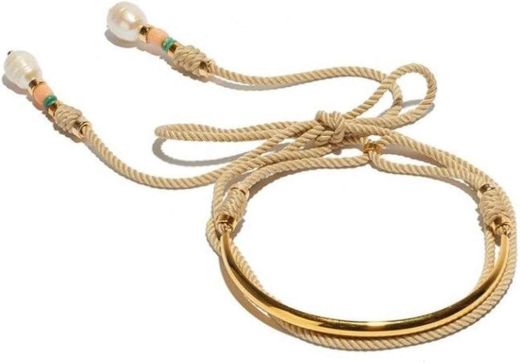 Lizzie Fortunato Safari Choker in Khaki Necklace