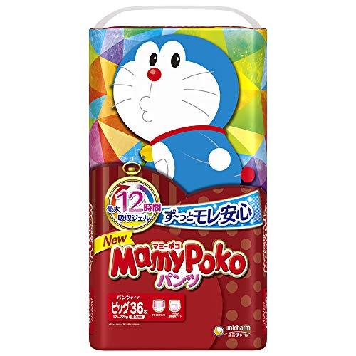【パンツ ビッグサイズ】マミーポコパンツ ドラえもん オムツ (12~22kg)36枚【Amazon.co.jp限定】