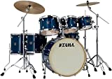Tama Superstar Classic Custom 7-Piece Shell Pack Transparent Blue Lacquer