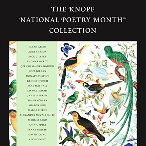 The Knopf National Poetry Month Collection audiobook cover art