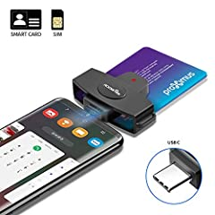 【CAC USB Smart Card Reader】DOD Military Common access card reader for CAC Cards, Government ID, National ID, ActivClient, AKO, OWA, DKO, JKO, NKO, BOL, GKO, Marinenet, AF Portal, Pure Edge Viewer, ApproveIt, DCO, DTS, LPS, Disa Enterprise Email etc. ...