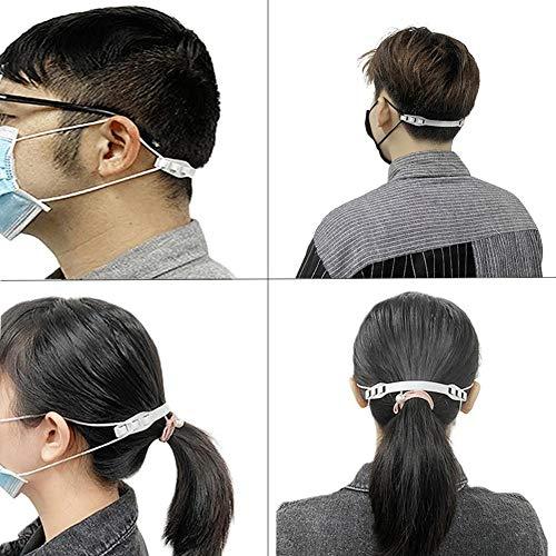 Einstellschlaufe Am Ohr 3 Stück/Packung, Anti-Leck-Maskenhaken, Verlängerungsschlaufe des Ohrbügels Der Maske, Verringerung Der Ohrenermüdung, Bequemes Halfter, Geeignet Für Dünnes Gesicht Und Kinde