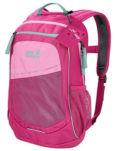 Jack Wolfskin Unisex Jugend Track Jack Sportrucksack für Kinder, pink Peony, ONE Size