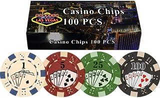 DA VINCI 100 11.5 Gram Poker Chips