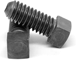 PT Coarse Thread A307 Grade A Square Head Machine Bolt Low Carbon Steel Plain Finish Pk 100 3//8-16 x 2
