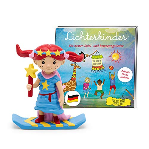 tonies Hörfigur für Toniebox, Lichterkinder – Best of Album der beliebtesten Spiel- und Bewegungslieder, Kinderlieder für Kinder ab 3 Jahren, Spielzeit ca. 50 Minuten