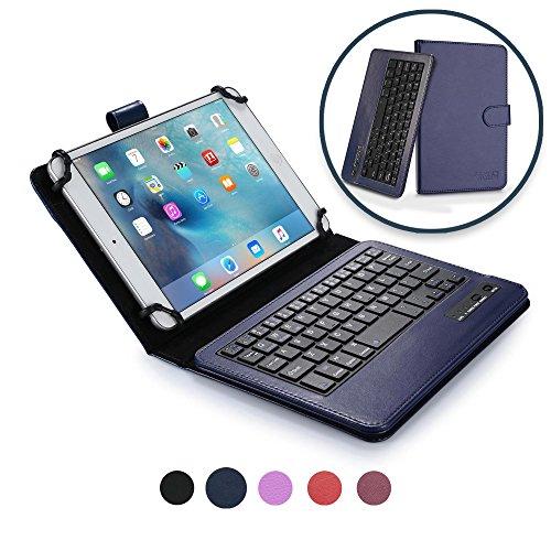 Universale 7'' - 8'' Tablet Custodia con Tastiera, COOPER INFINITE EXECUTIVE Custodia a libro Per Il Trasporto di Tablet con Tastiera Bluetooth QWERTY Wireless Removibile con supporto per 7'' - 8'' Tablet