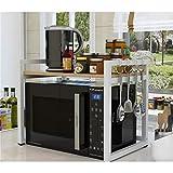 XAGB Bastidores de la cocina del hogar almacenaje doble estante del almacenaje del estante del almacenaje del condimento los 55 * 40 * 52cm (Color : C, Size : 60cm)