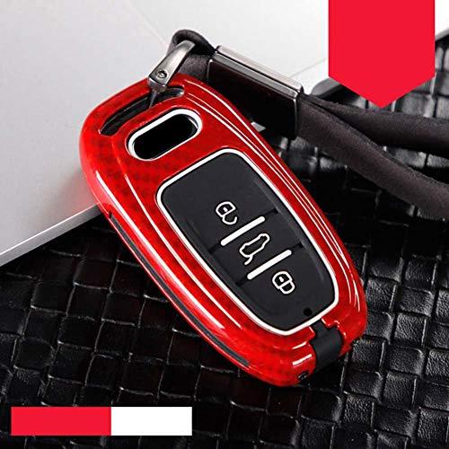 AMLaost Gel de sílice, nueva cubierta de llave de coche, protección protectora, carcasa de carcasa, fundas de estilo de coche con llave inteligente, para Audi A4 A4L A5 A6 A6L Q5 S5 S7