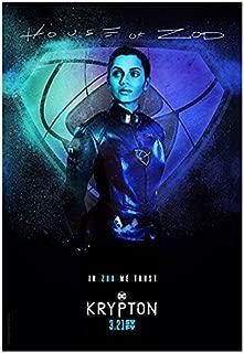 Georgina Campbell 8 inch X 10 inch photograph Krypton (TV Series 2018 - )