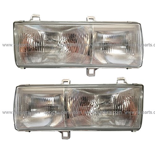 Headlight with Mounting Bracket - Driver and Passenger Side (Fit: Nissan UD 1800, UD 2000, UD 2300, UD 2600, UD 3300 Trucks)