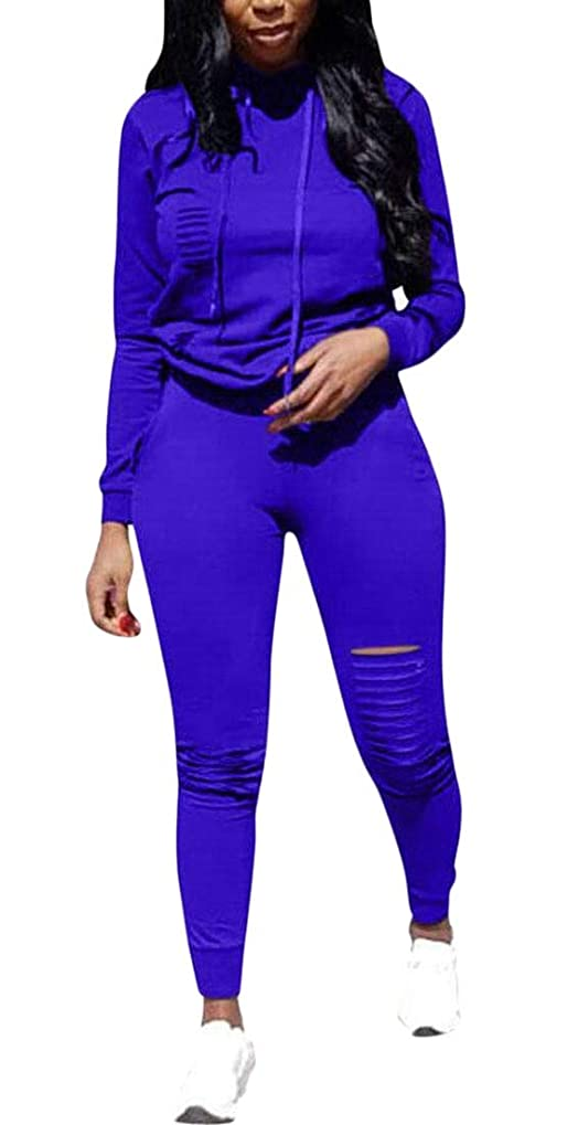 宿泊施設第オークレディースジョギングパーカースウェットシャツスキニーロングパンツトラックスーツは、2つの部分の衣装を設定