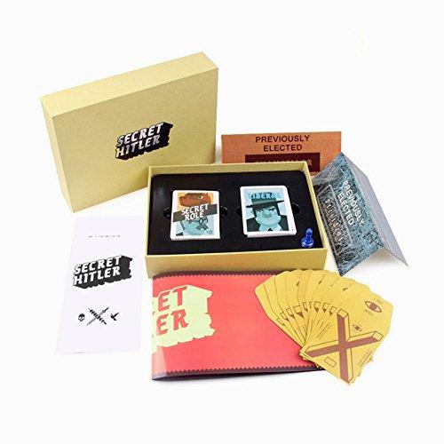 kuaetily Secret Hitler, Fantastisches Partyspiel EIN interessant Multiplayer Brettspiel