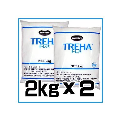 トレハ・4kg(2kg×2)・(株)林原正規品