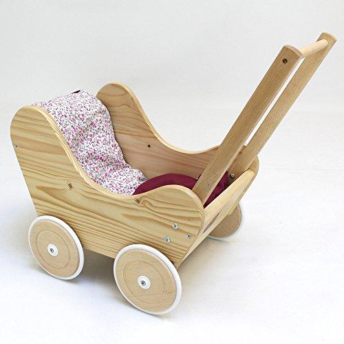 Holzpuppenwagen aus Holz