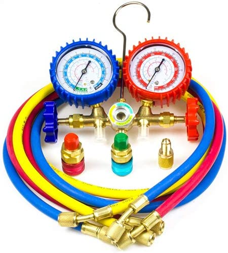 Ziss A C Product Diagnostic Manifold for Refrigeration sold out Chargin Gauge Set