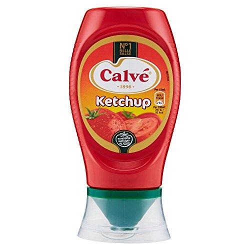 Calvé Ketchup in Confezione Top Down da 250 ml