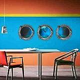 NIANTUEH Etiqueta de Pared Decorativos de Interior de PVC 3D Set de 3 Buzo de Alta mar