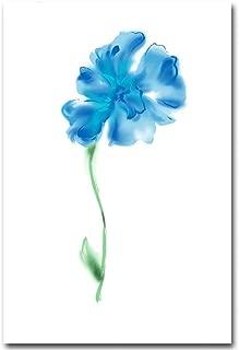 XiangRuima Watercolor Plant Flower Canvas Poster Minimalist Art Canvas Wall Picture@2_3040cm
