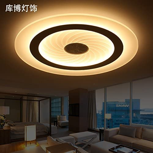 Kang @ LED lampe de plafond rond créative salon chambre moderne minimaliste super slim enfants room lamp diamètre 20 4cm lumière chaude