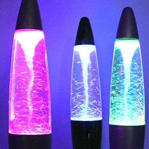 LEDMOMO Glitter Lampe magische Tornado Usb Dekoration Nachtlicht Ornamente LED Light-EU-Stecker