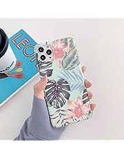 Herbests Compatible con iPhone 11 Pro Funda de Silicona Suave Funda de Flores Elegante Carcasa Diseño Ultra Delgada Cubierta TPU Bumper Antishock Case Cover, Rosa