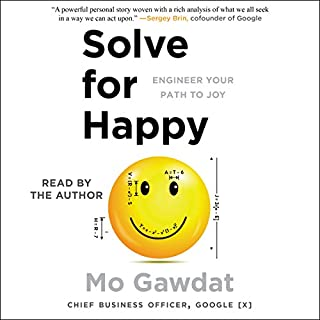 Solve for Happy audiobook cover art