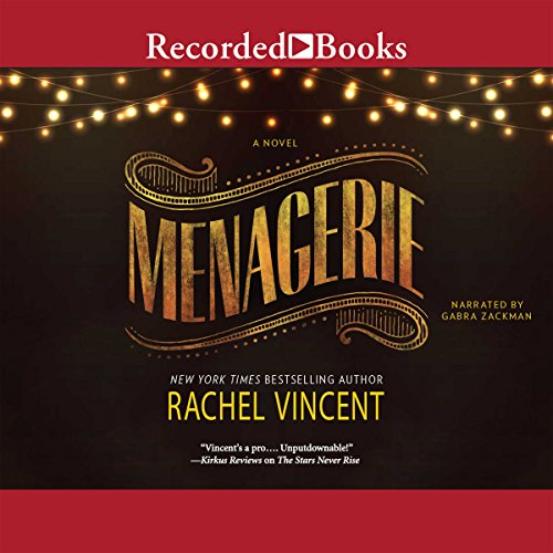 Menagerie audiobook cover art