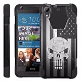 HTC Desire [626 / 626s] Proton Guard Phone Case - US Flag Skull