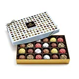Godiva Chocolatier Assorted Chocolate Truffles Gift Box, 24-Pieces, 16.1 Ounce