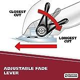 Adjustable taper lever