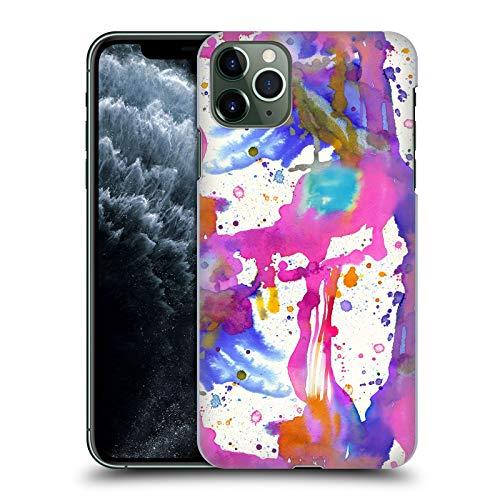 Head Case Designs Licenza Ufficiale Ninola Schizzi di Pittura Fucsia Acquarelli 2 Cover Dura per Parte Posteriore Compatibile con Apple iPhone 11 PRO Max
