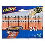 Hasbro- Nerf N-Strike Elite AccuStrike - Recambios para Dardos (24 Unidades), Color (C0163EU61)