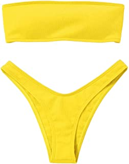 05446f3132cd Amazon.es: tangas amarillas
