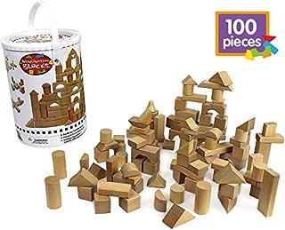 Best natural wooden blocks Reviews