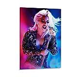 DRAGON VINES Lady Gaga Joanne Concert Fashion Charming Wall Prints Modern Wall Decor per ufficio incorniciato 30 x 45 cm