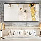 ZWBBO Leinwand Gemälde Dekorative Malerei Ritterdetaildes Beethoven-Friesesvon Oil Painting on Canvas Art Poster und Wandbilder für das Wohnzimmer-70x100cm