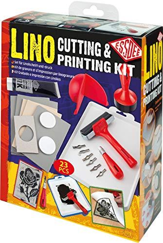 Essdee L5PKR1 Kit di taglio e stampa Lino, 23 pezzi