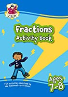 New Fractions Maths Activity Book for Ages 7-8: perfect for home learning