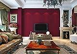 Oileask Vintage Land Tapete Schlafzimmer Wohnzimmer Wand Vliestapete Dunkelrot