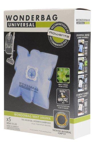 Rowenta Wb415111 Boîte de 5 Sacs Aspirateur Wonderbags Fresh Line