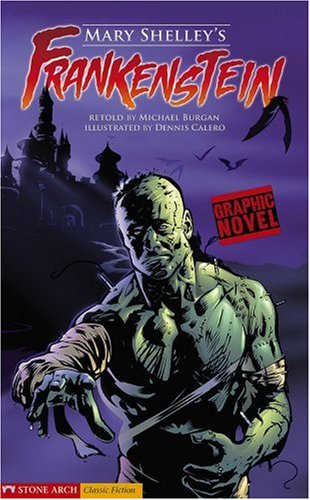 Download Mary Shelley's Frankenstein: Graphic Novel (Graphic Revolve) 1598898302