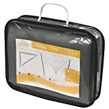 Sol Royal® Sonnensegel SolVision 3,6×3,6×3,6m Sonnenschutz Segel wasserabweisend UV-Schutz Segel Dreieck Anthrazit - 8