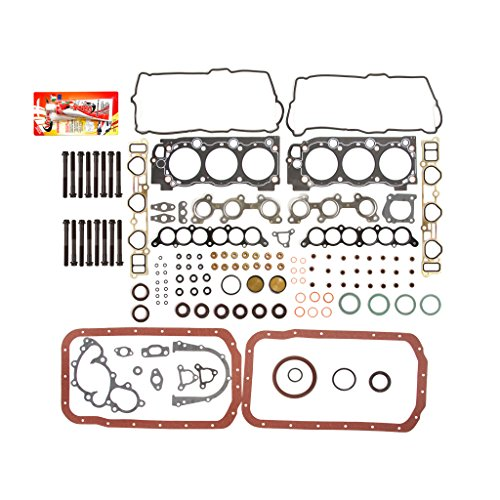 Compatible With 95-04 Toyota 4Runner Tacoma Tundra 3.4L DOHC 5VZFE Full Gasket Set Head Bolts