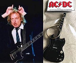 Llavero de guitarra Gibson Sg Ebony Angus Young AcDC