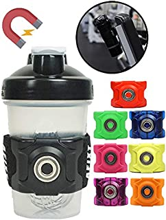 AFIXT Magnetic Water Bottle Holder with Adjustable...