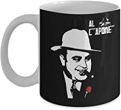 The Godfather Al Capone Coffee Mug, Funny, Cup, Tea, Gift For Christmas, Father's day, Xmas, Dad, Anniversary, Mother's day, Papa, Heart, Santa
