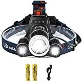 Best Running Headlamps - Siuyiu Led Rechargeable Running Head Torch, 6000 Lumens Review